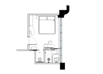 Chambre Classic Réaumur - Plan